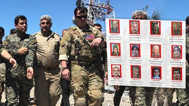 ABD askerleri kırmızı listedeki teröristlerle gezdi!