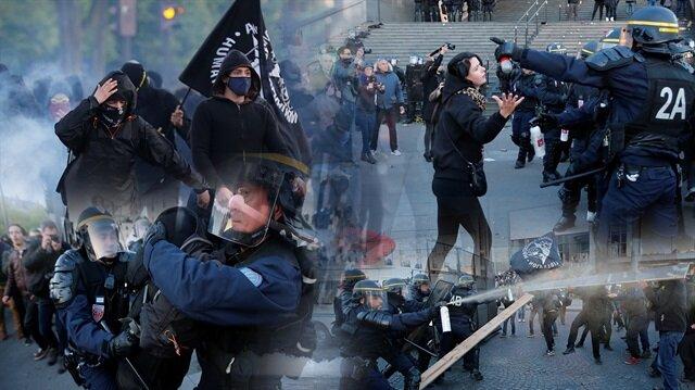 Fransa'da sokaklar durulmuyor: 29 gözaltı