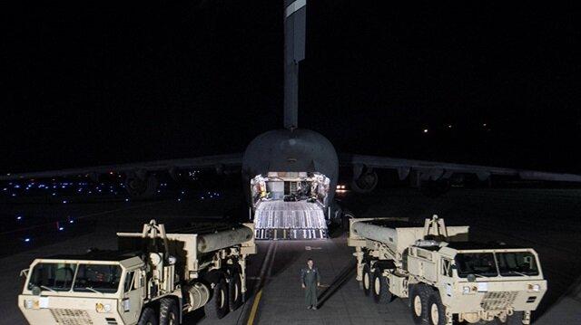 ABD Güney Kore'de THAAD'ı kuruyor
