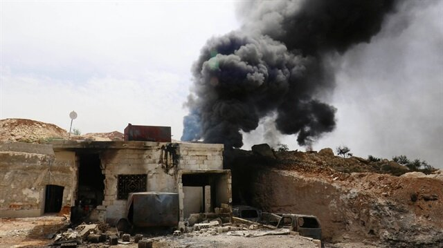 Russian jets target civilian infrastructure in NW Syria