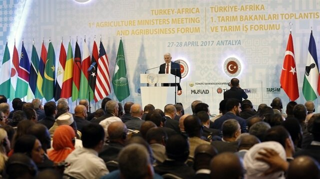 Turkey, Africa discuss feeding growing world population