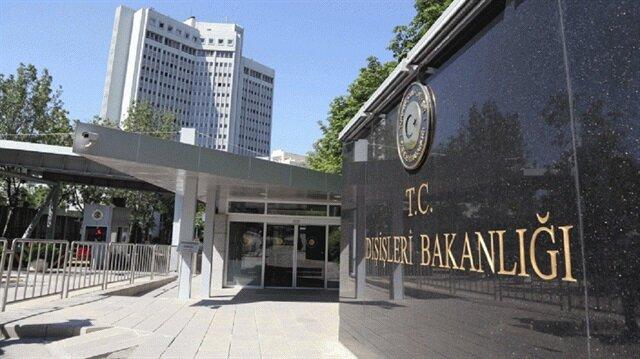الخارجية التركية تدين بشدة قرار مجلس النواب التشيكي حول أحداث 1915