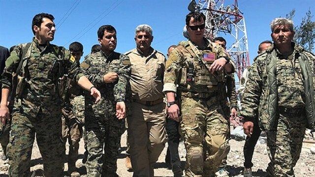 US commander briefed by PKK terrorist in Syria's Karachok