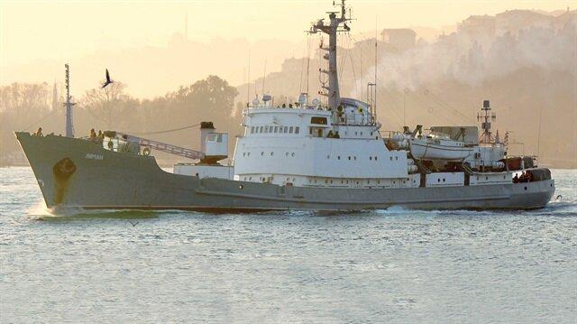 Rus istihbarat gemisi battı