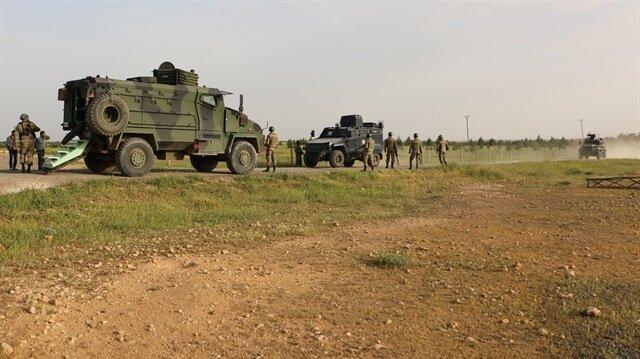 الجيش التركي يرد على مصادر نيران من مناطق