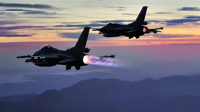 Turkish jets neutralize 14 PKK terrorists in northern Iraq