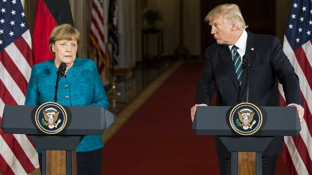 Merkel says she has 'good relationship' with Trump despite frosty start