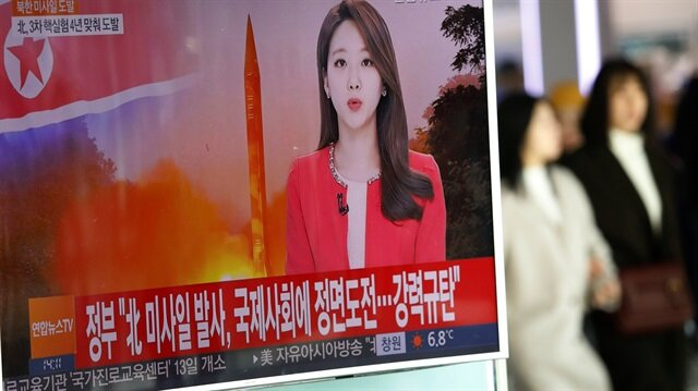 France calls for firm reaction after North Korea's missile test