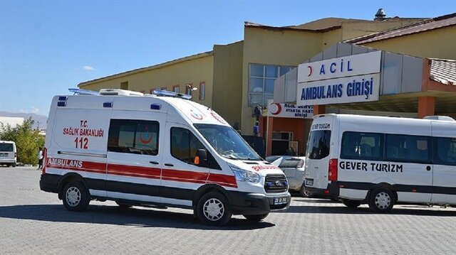 The injured soldiers were airlifted to Hakkari State Hospital.