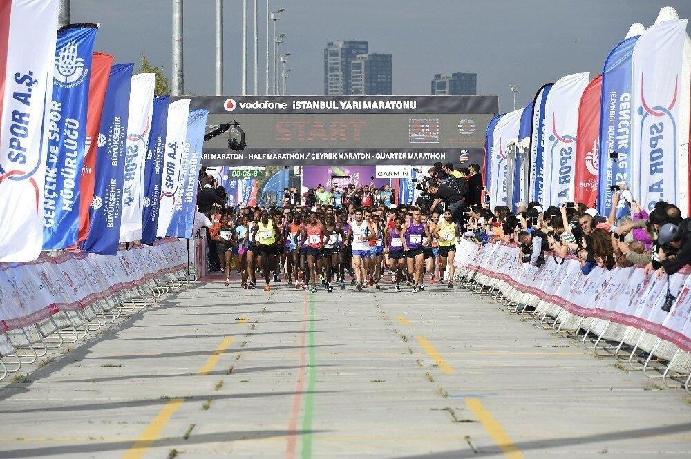 Maraton başladığı yerde sona erdi.