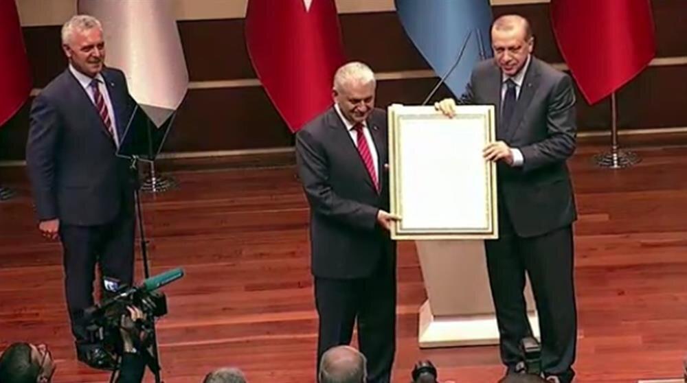 Cumhurbaşkanı Erdoğan üyelik beyannamesini imzaladı.