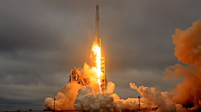SpaceX Lands Its Falcon 9 Rocket After Launching Military Satellite