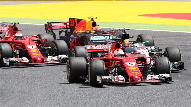 Hamilton wins Spanish GP ahead of Vettel