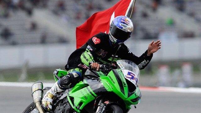 Kenan Sofuoğlu İtalya'da birinci oldu