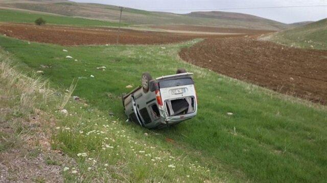Sivas Yerel Haber: Sivas'ın Gürün ilçesinde meydana gelen trafik kazasında 1 kişi yaralandı.