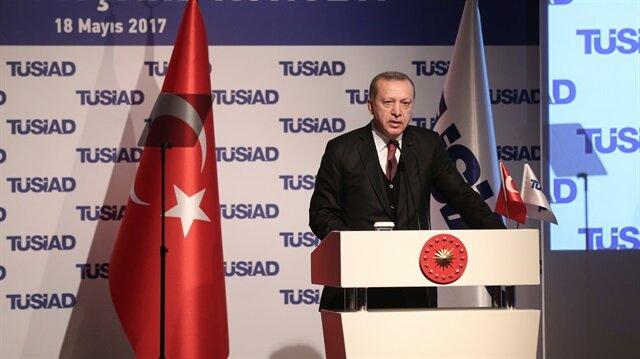 Cumhurbaşkanı Recep Tayyip Erdoğan TÜSİAD YİK Toplantısı'nda konuştu.