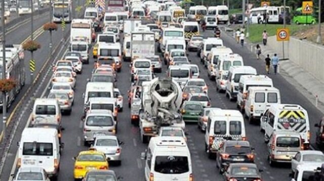 İstanbul'da bayram tatili trafiği