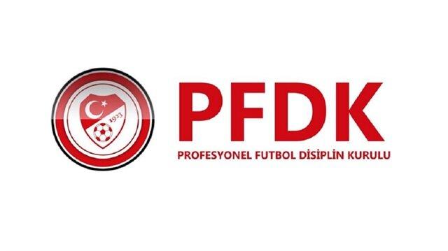 PFDK'dan üç büyüklere tribün kapatma cezası