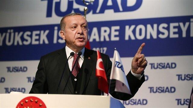 Erdoğan'dan AB'ye: Biz kapıkulu değiliz
