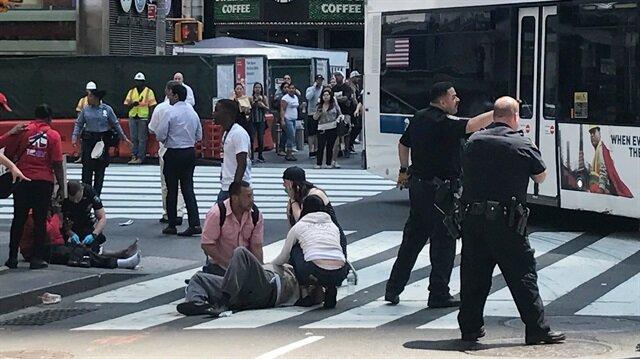 Son dakika ABD New York'ta dehşet: Çok sayıda yaralı var
