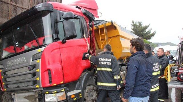 Karabük'te trafik kazası haberi: 5 yaralı