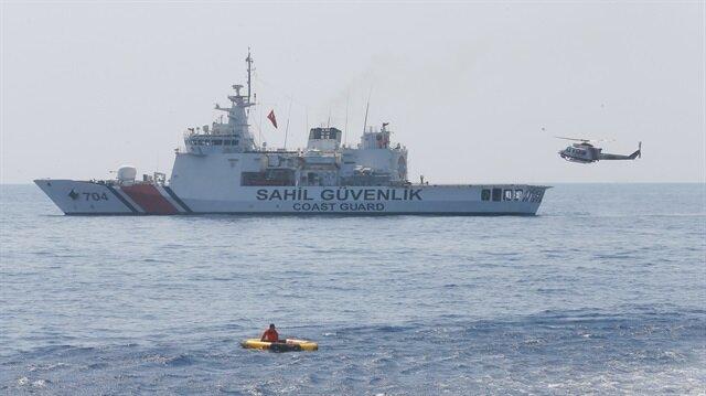 Ege Denizi'nde 58 göçmen kurtarıldı-