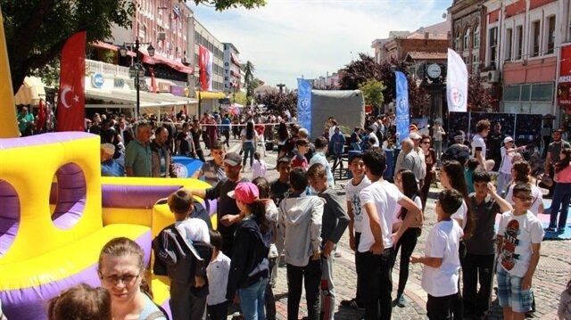 Edirne'de 19 Mayıs, spor etkinlikleri ile kutlandı-