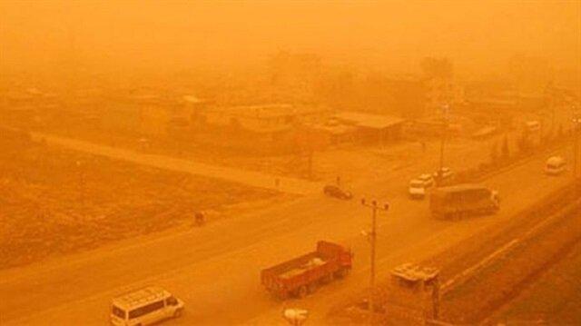 Mardin'de toz taşınımı-Mardin hava durumu