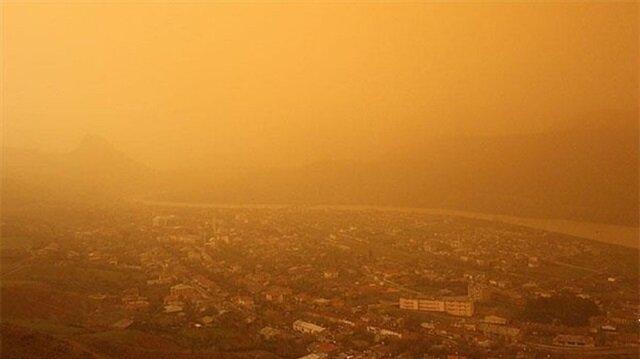 Diyarbakır'da toz taşınımı etkili oluyor! Diyarbakır hava durumu