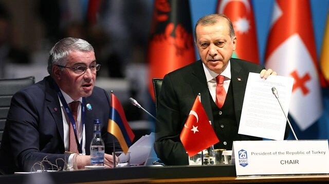 Cumhurbaşkanı Erdoğan'dan Ermeni temsilcinin sözlerine tepki