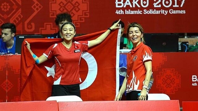 تنس الطاولة: فضية وبرونزية لتركيا بـ