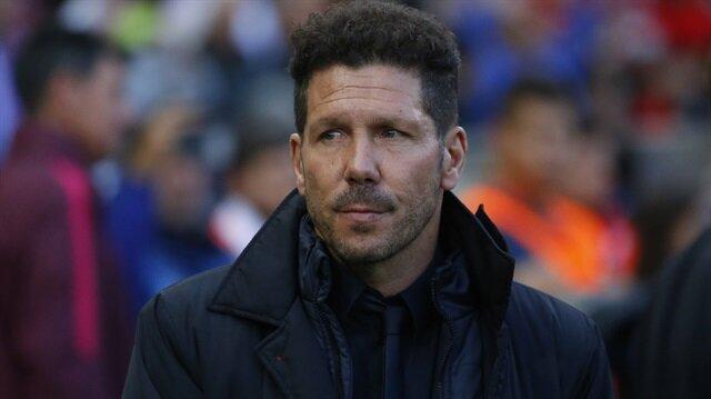 Simeone Atletico'da devam ediyor