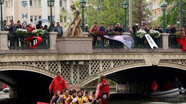 في عيد الرياضة التركي سباق منظم خصيصًا للشباب