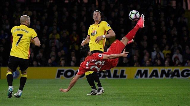 Emre Can'ın röveşatası yılın golü seçildi<br>