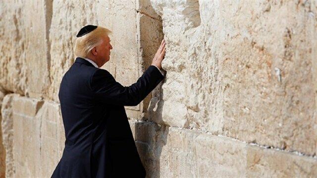 Trump Kudüs'te