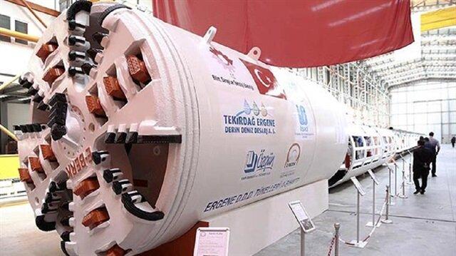 أضخم الآلات باتت بصناعة تركية