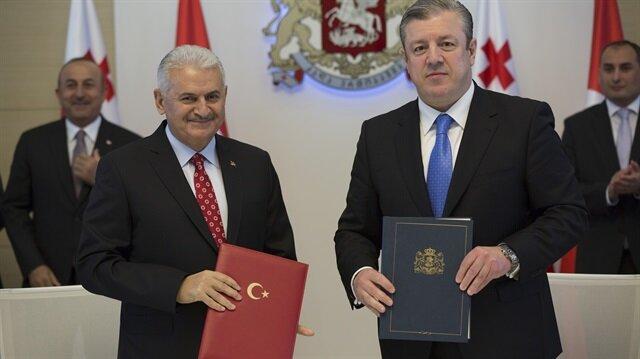 تركيا وجورجيا توقعان اتفاقيات تعاون في عدة مجالات