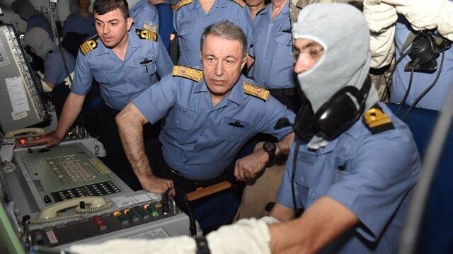 Komutanlar tatbikatı yerinde izledi