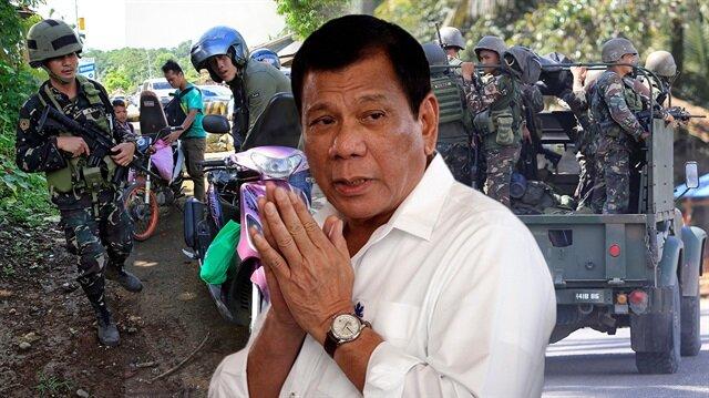 Filipinler'de sıkı yönetim ilan edildi