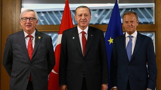 Erdoğan meets with EU leaders