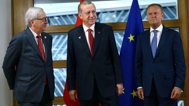 Erdoğan'ın Brüksel'de liderlere verdiği mesaj