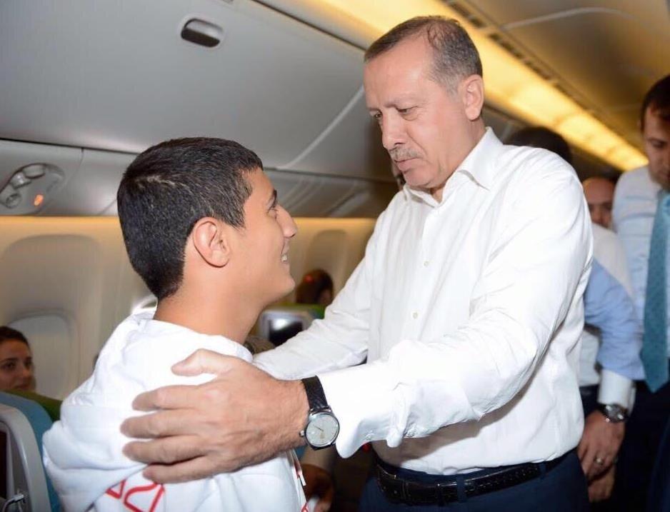 Beytullah Eroğlu, Cumhurbaşkanı Recep Tayyip Erdoğan'ın kendisine büyük destek verdiğini dile getirdi.