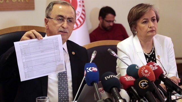 Meclis'in darbe girişimi taslak raporu açıklandı