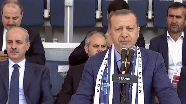 Cumhurbaşkanı Erdoğan: Bu başarılar bize altın tepside sunulmadı