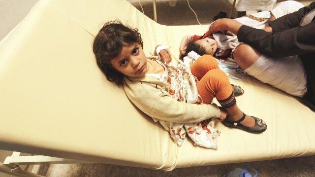 Yemen koleraya teslim