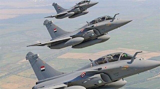 الجيش المصري: القوات الجوية دمرت مناطق تمركز وتدريب إرهابيين في ليبيا