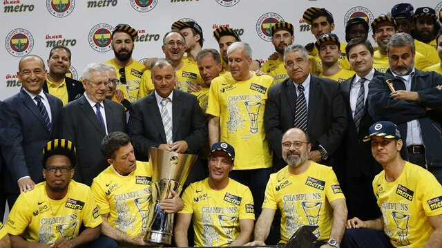 Turkish Airlines Euroleague champion Fenerbahce.