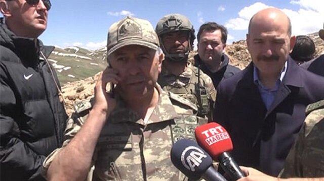 Şehit Tümgeneral Cumhurbaşkanı Erdoğan'la telefonda görüşmüştü