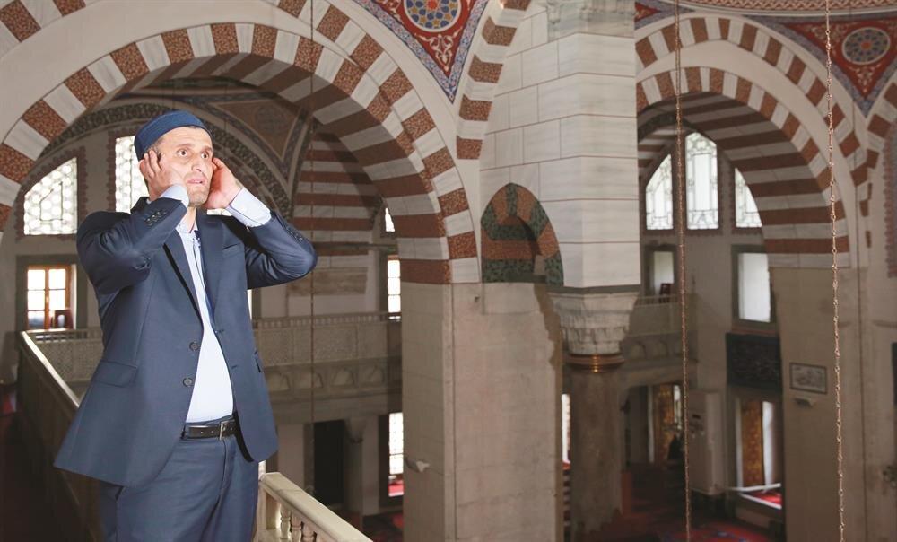 Üsküdar Çinili Camii Müezzini Dursun Şahin