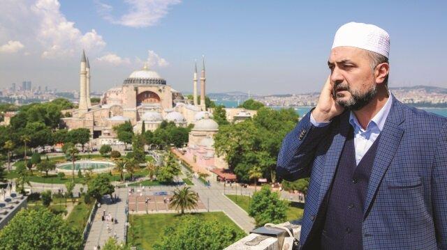 Sultanahmet Camii Müezzini Mehmet Hadi Duran